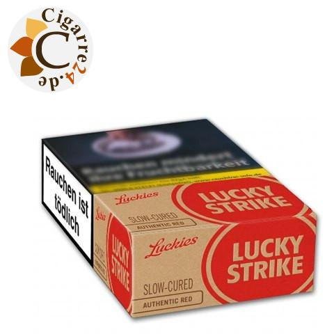Lucky Strike Authentic Tobacco Red 7,20 € Zigaretten