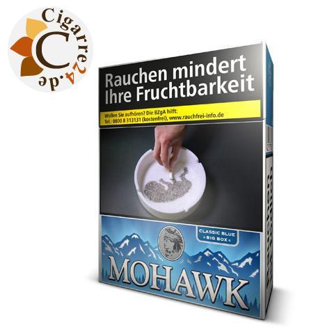 Mohawk Classic Blue Big Box 6,70 € Zigaretten