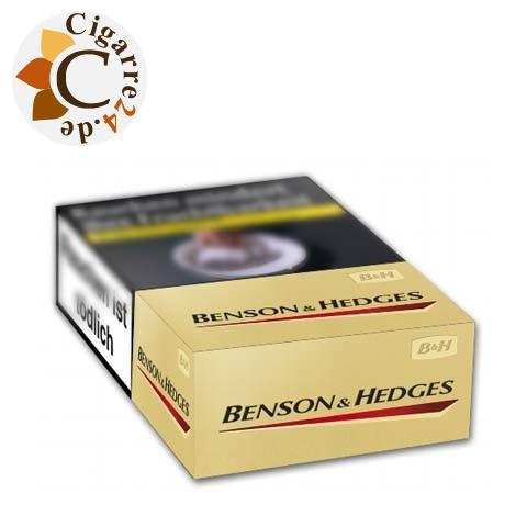 Benson & Hedges Gold 7,20 € Zigaretten