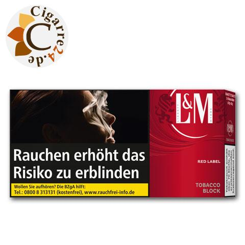 L&M Tobacco Block Red Label, 42g