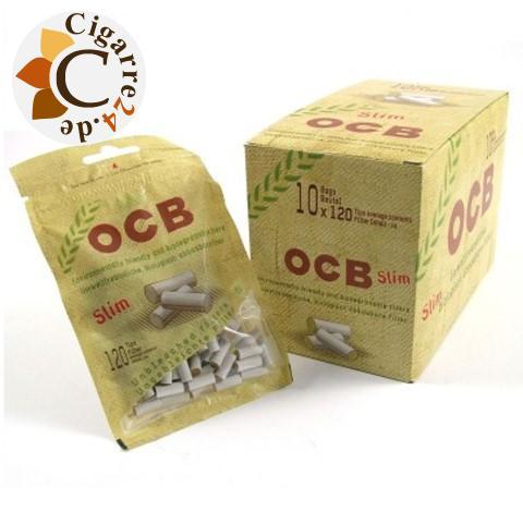 OCB Organic Slim Filter Einzelpackung