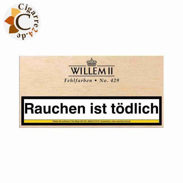 Willem II Fehlfarben 429 Sumatra Zigarillos, 100er