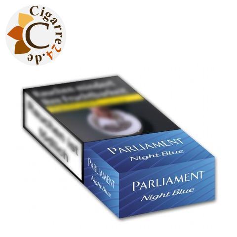 Parliament Night Blue Long 7,50 € Zigaretten