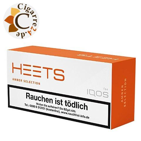 Heets Amber Selection Tobacco Sticks