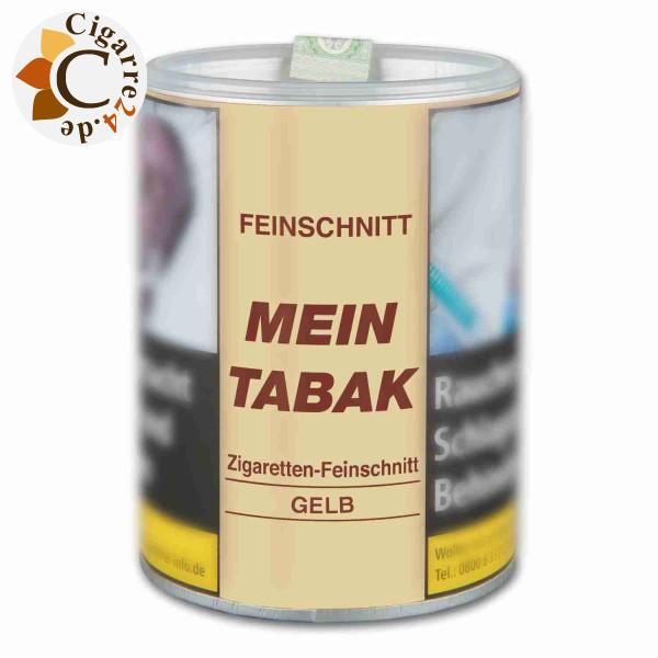 Mein Tabak Zigaretten Feinschnitt Gelb, 180g