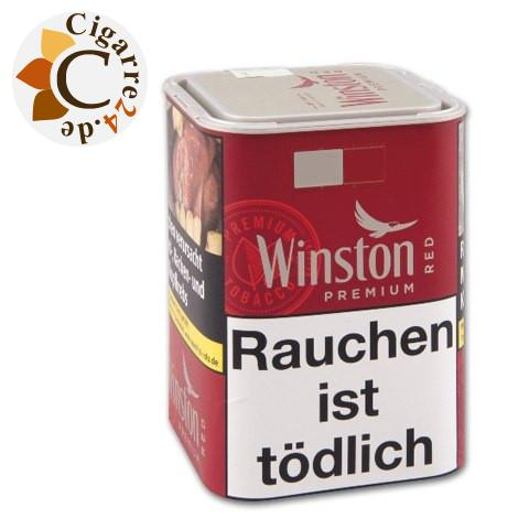 Winston Cigarette Tobacco Red Tin-M, 100g