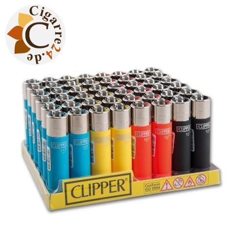 Einwegfeuerzeug Clipper Soft Touch Steinzündung