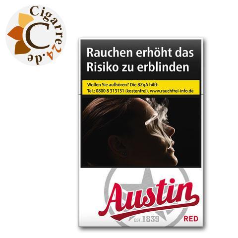 Austin Red 5,70 € Zigaretten
