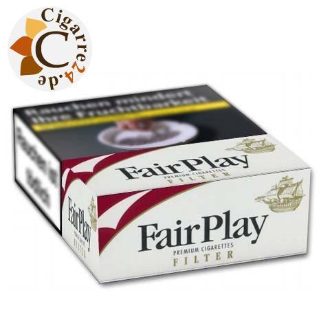 Fair Play Filter Maxi Pack 7,00 € Zigaretten