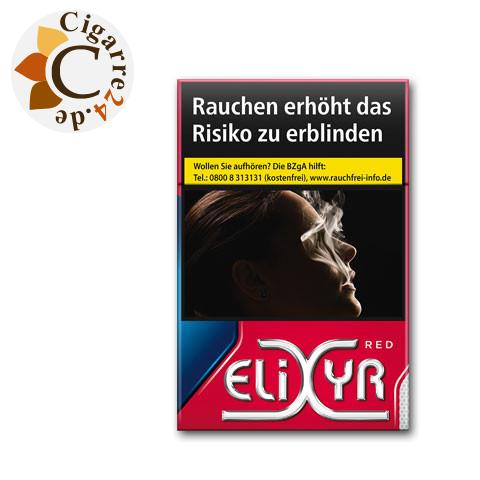 Elixyr Red 6,20 € Zigaretten