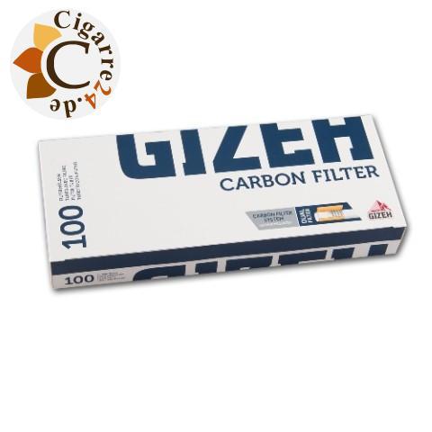 Gizeh Silver Tip Carbon Filterhülsen, 100er