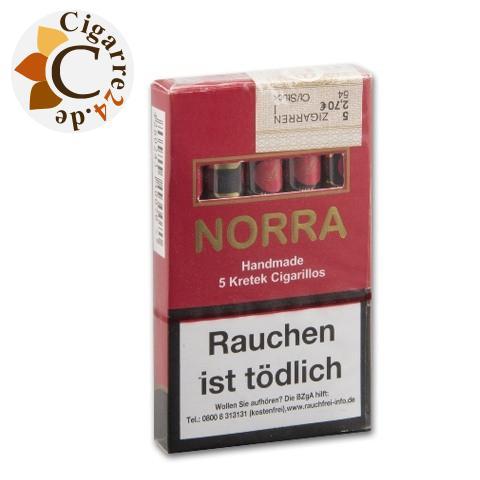 Norra Kretek Zigarillos Red, 5er