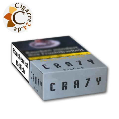 Crazy American Blend Silver Filterzigarillo - Einzelpackung
