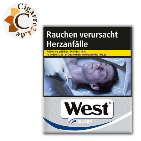 West Silver 9,90 € Zigaretten