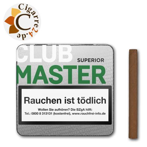 Clubmaster Superior Brasil 144 Zigarillos, 20er