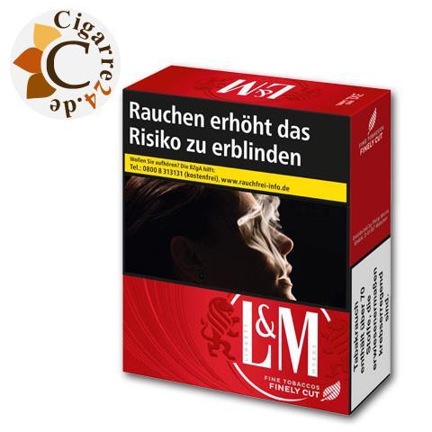 L&M Red Label 3XL-Box 10,00 € Zigaretten