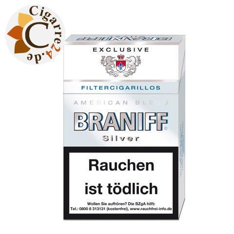 Braniff Silver Filterzigarillos