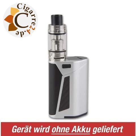 E-Zigarette Steamax Akkuträger Set GX350 - Silber-Schwarz ohne Akku