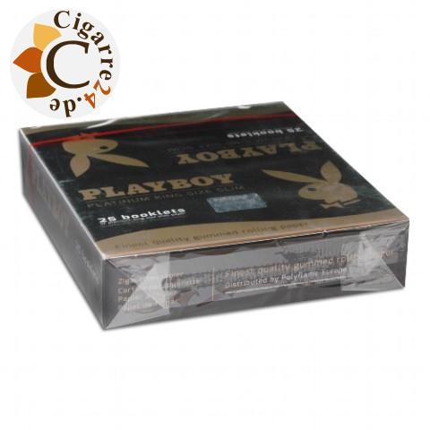 Playboy Slim King Size Zigarettenpapier 25x50