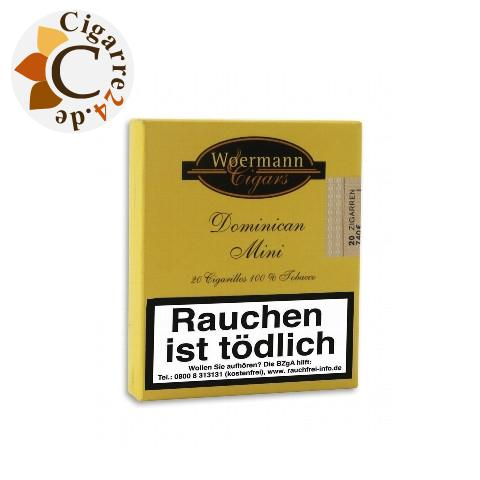 Woermann Cigars Classic Dominican Mini, 20er