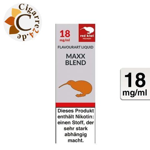 Red Kiwi E-Liquid Maxx Blend 18mg Nikotin