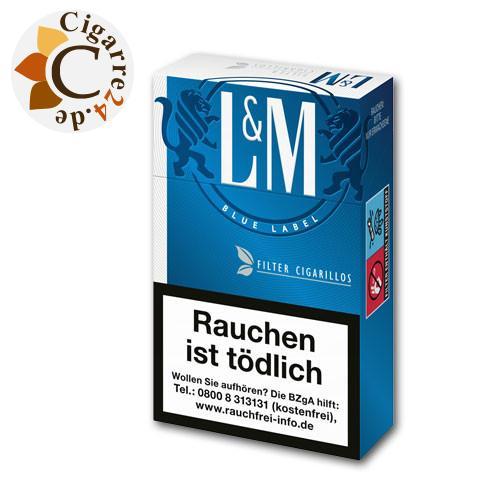 L&M Blue Filterzigarillos