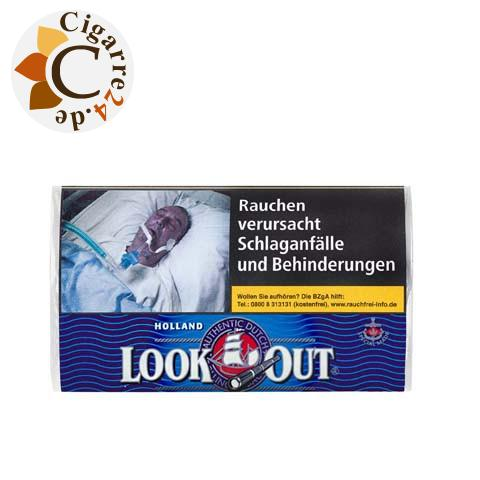 Look Out Holland Black, 50g