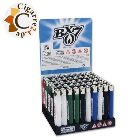 Einwegfeuerzeug BX7 Steinzündung