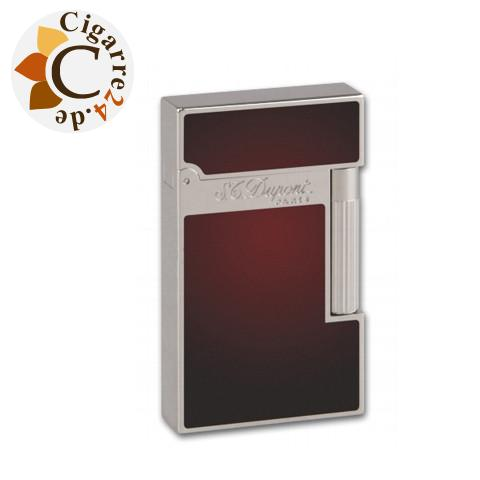 S.T. Dupont Feuerzeug Linie 2 Atelier Red Natural Lacquer