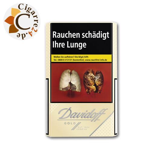 Davidoff Gold 7,20 € Zigaretten