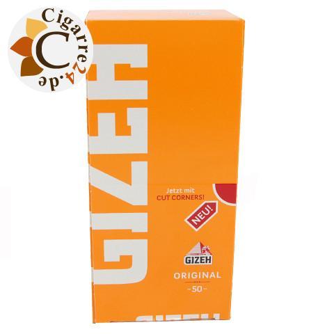 Gizeh Gelb - 50 Heftchen