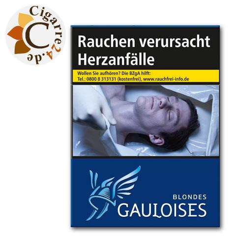 Gauloises Blondes Blau 9,00 € Zigaretten
