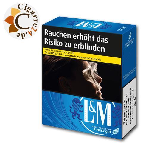 L&M Blue Label 3XL-Box 10,00 € Zigaretten