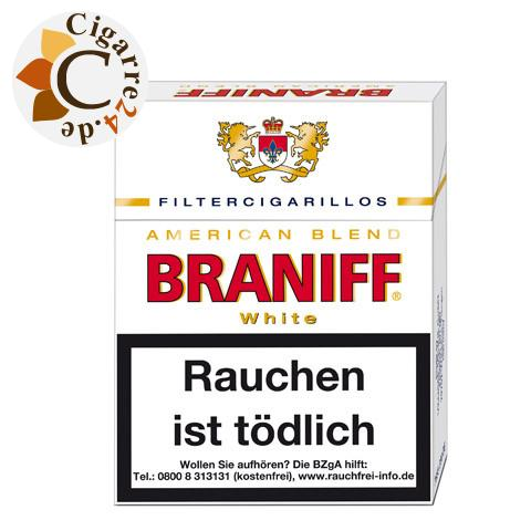 Braniff Whites Big Pack Filterzigarillo