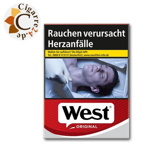 West Red 8,00 € Zigaretten