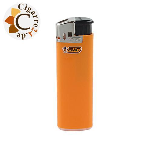 Einwegfeuerzeug Bic Electronic Neutral - Orange