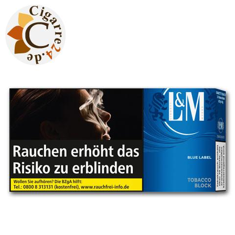 L&M Tobacco Block Blue Label, 42g