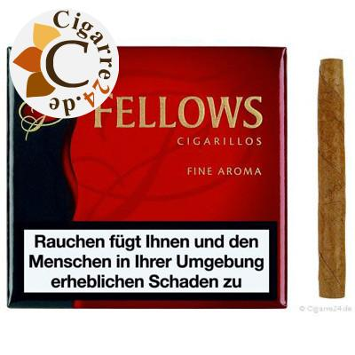Clubmaster Fellows Red Zigarillos, 20er