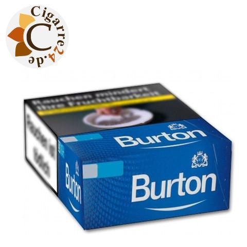 Burton Blue XL-Box 7,00 € Zigaretten