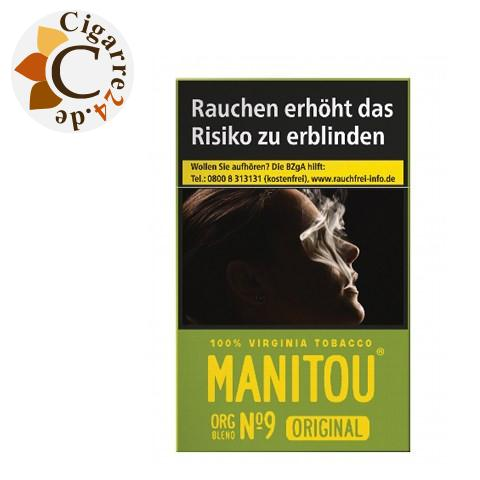 Manitou Organic Blend No. 9 Green 6,70 € Zigaretten