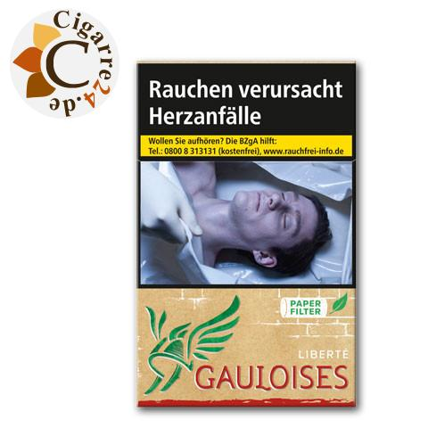 Gauloises Liberte Rot 7,20 € Zigaretten