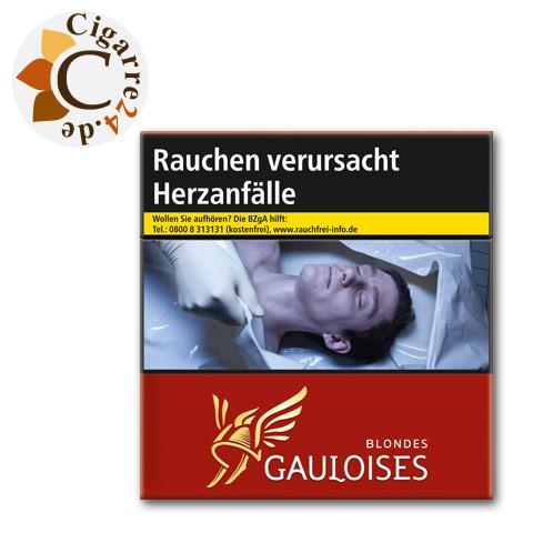 Gauloises Blondes Rot 15,00 € Zigaretten