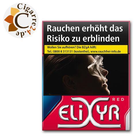 Elixyr Red 11,00 € Zigaretten