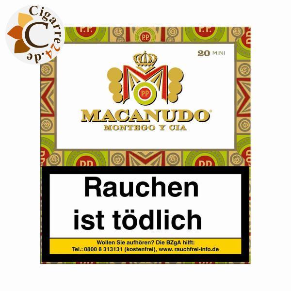 Macanudo Cafe Cigarillo Zigarillos, 20er