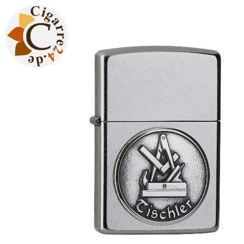 Zippo Street Chrom Tischler Emblem