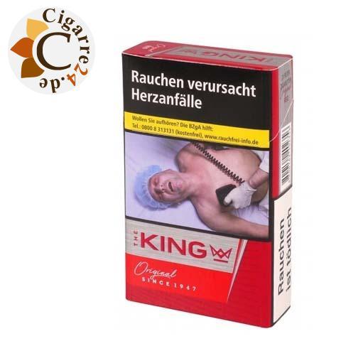 The King Original Red 5,20 € Zigaretten