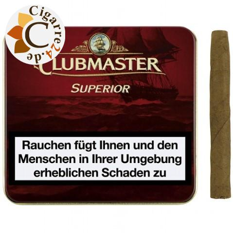 Clubmaster Superior Red Zigarillos, 20er