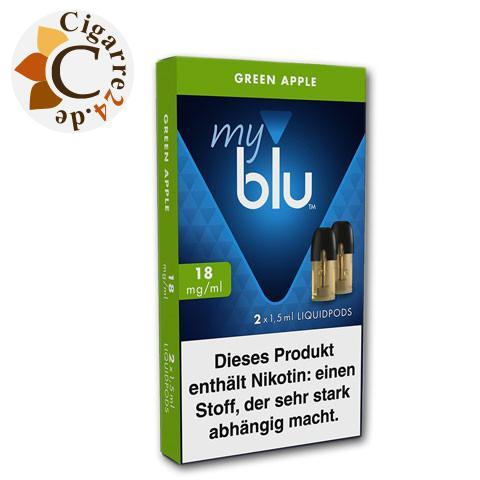 myblu Liquid-Pods Green Apple 18mg Nikotin