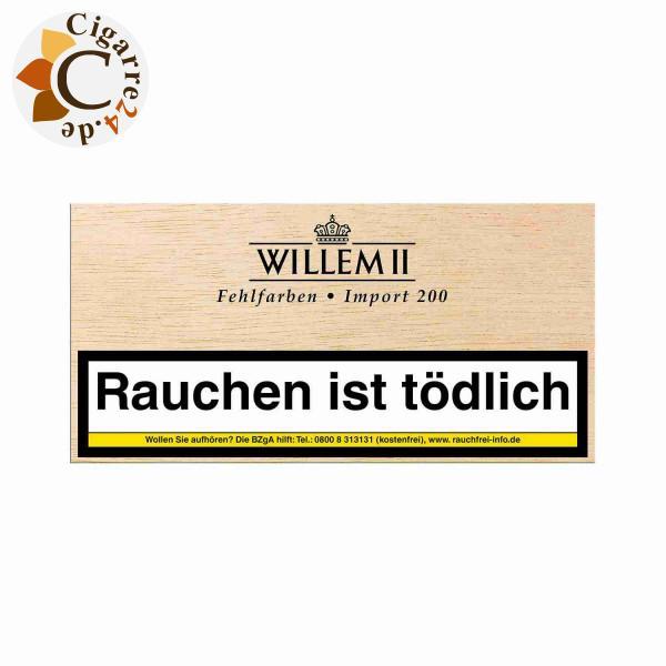 Willem II Fehlfarben Import 200 Sumatra Zigarillos, 100er