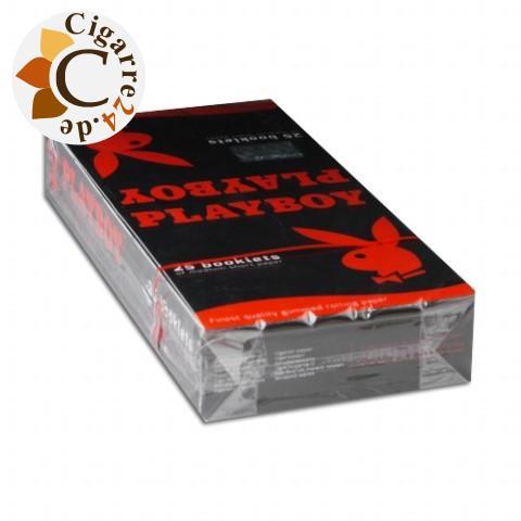 Playboy Medium Short Size Zigarettenpapier 25x50